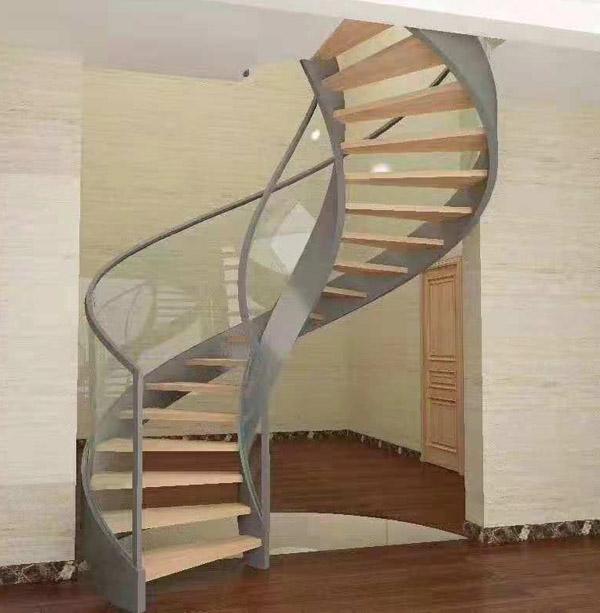 SQ-145鋼木樓梯客戶案例