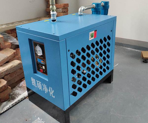冷冻式干燥机客户安装现场