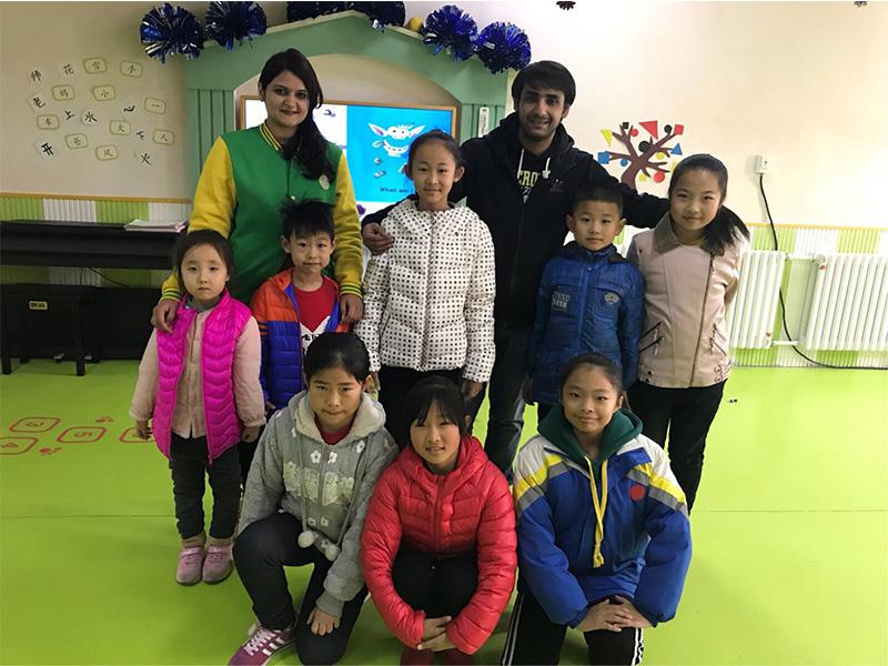 安丘幼兒園團隊活動