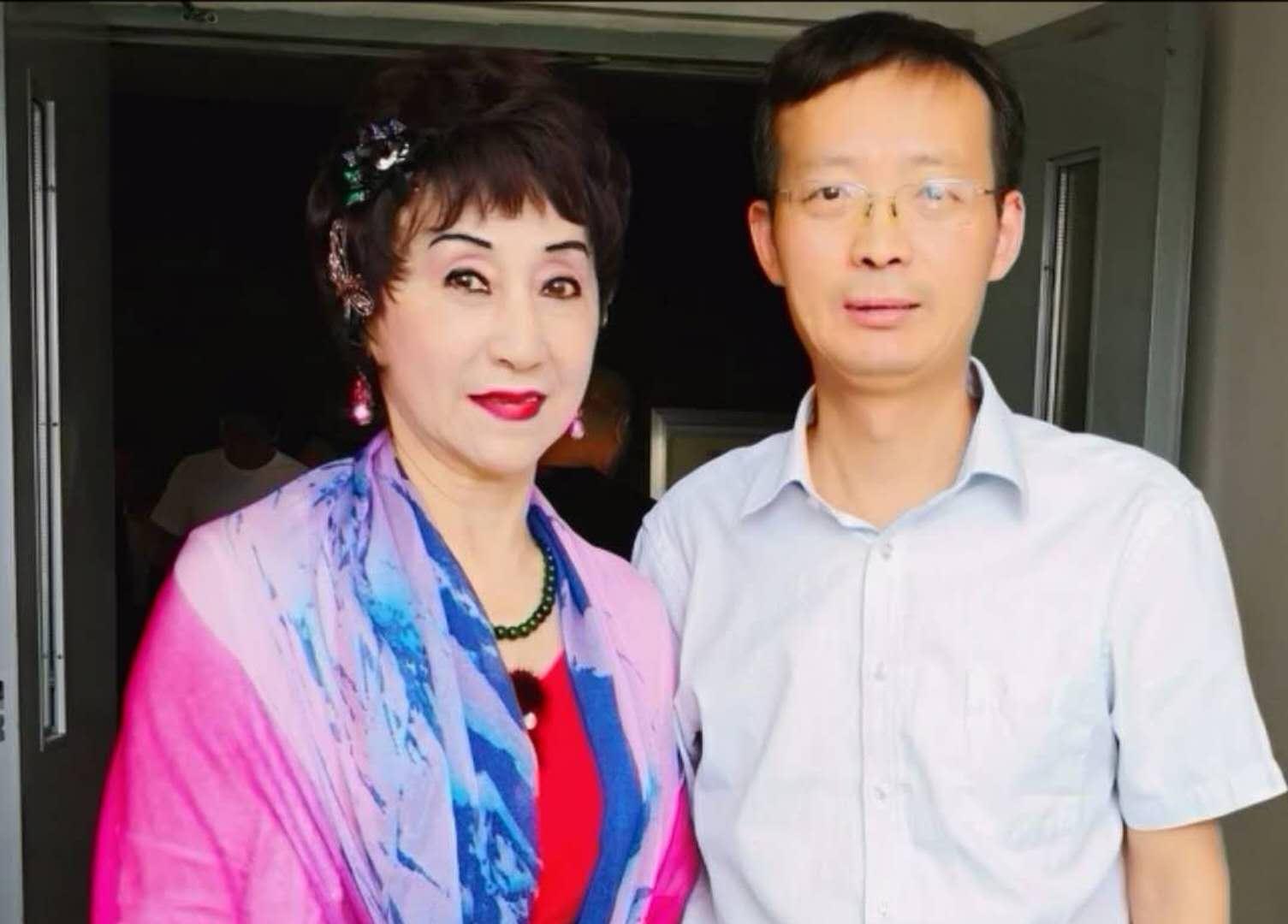 全國政協委員、中國舞蹈美育聯盟主席陳愛蓮