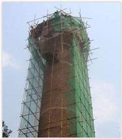 陜西省人民醫院水塔人工拆除工程