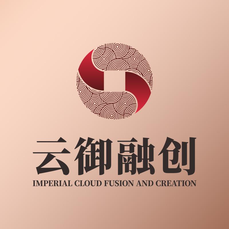 """""""云御融創""""LOGO設計,金融logo,經濟標志設計"""