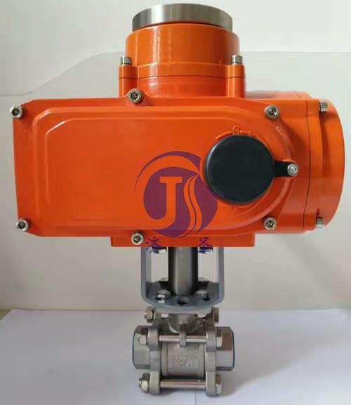 Q911F-16P潜水型电动球阀