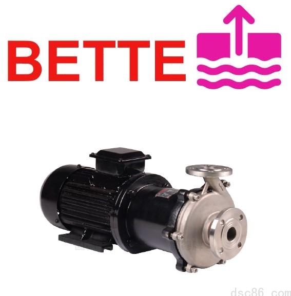 德国贝特BETTE不锈钢磁力泵