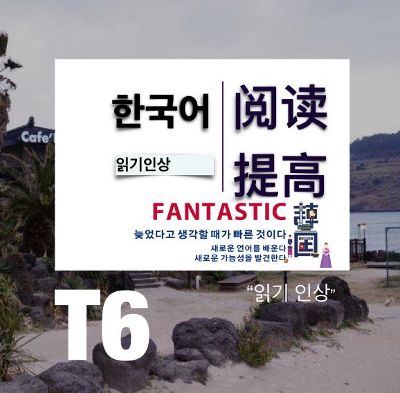 韩语T6阅读提高