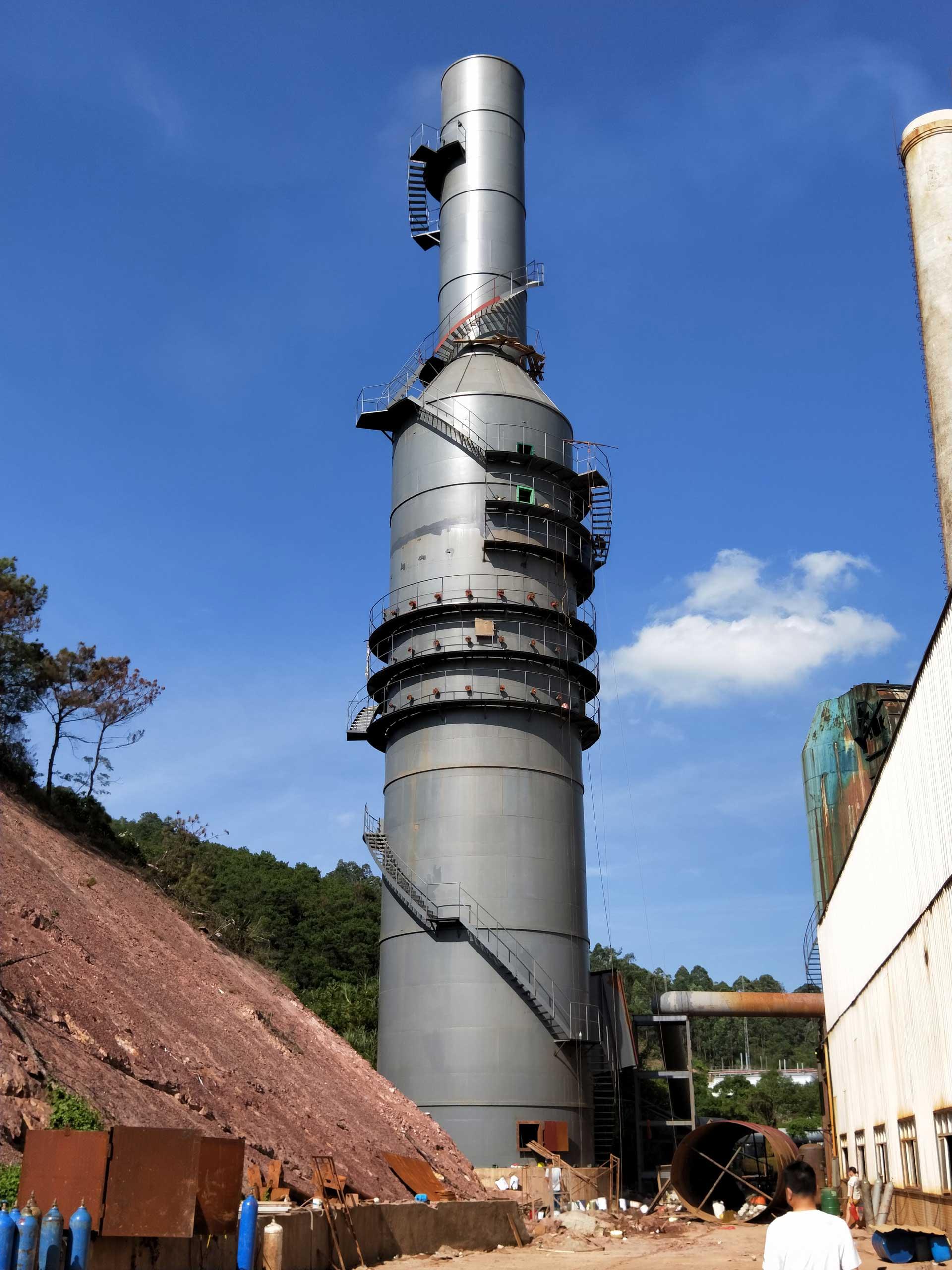 惠州瑞涛公司双碱法烟气脱硫系统