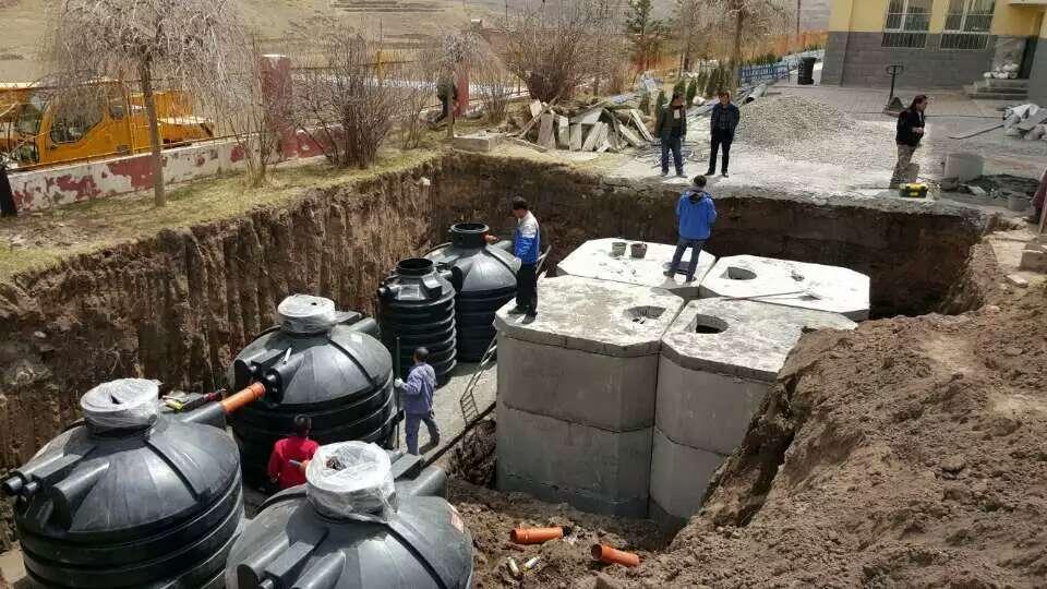 地埋塑料化粪池