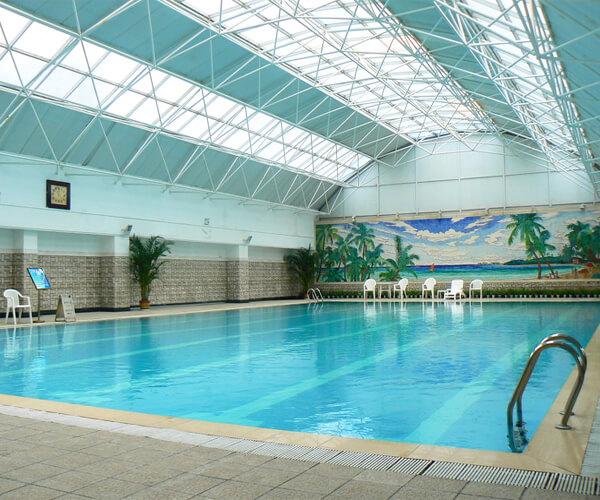 山西太原室內恒溫游泳池及泡澡
