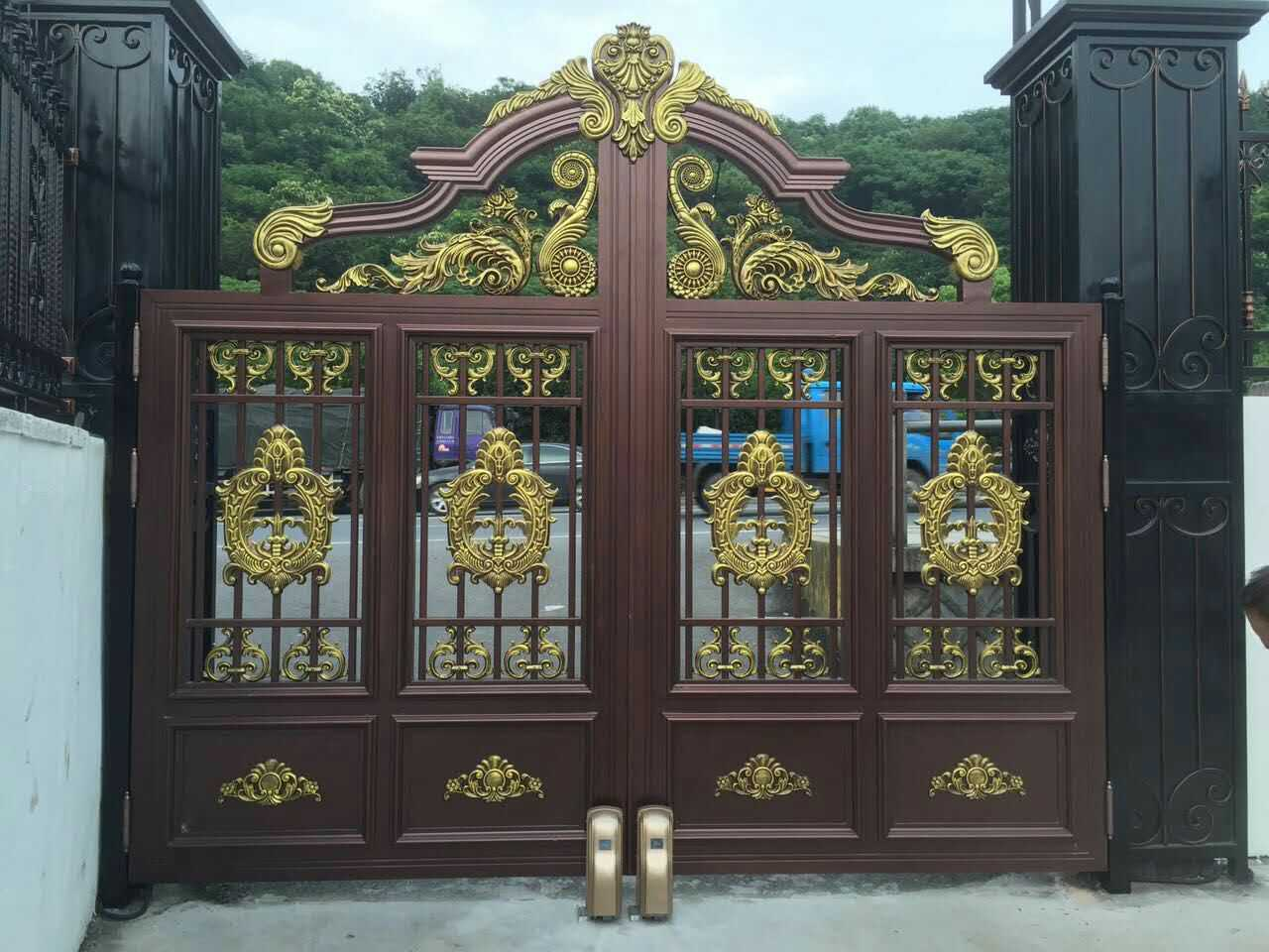 鋁藝別墅門