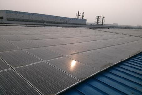 山東祥盛紡織5.8MW屋頂分布式光伏電站