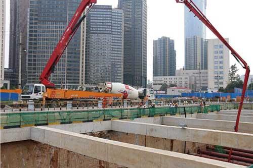 南昌地鐵2號4號線施工