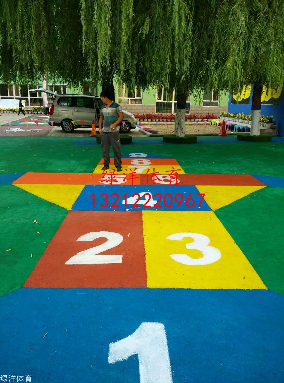 赤峰市林东直属机关幼儿园EPDM龙8国际颗粒操场