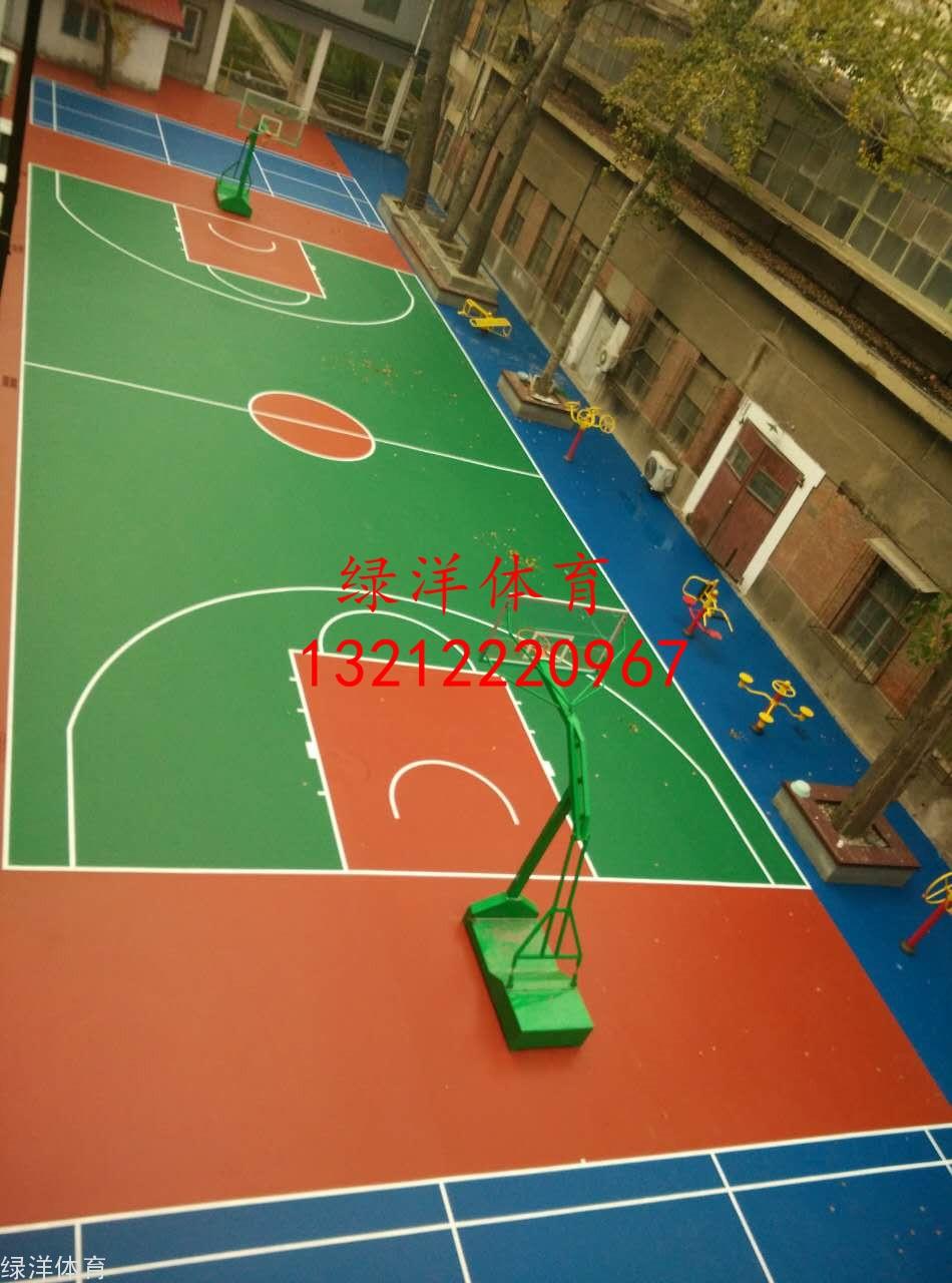 天津市针织研究所硅pu龙8国际平台入口羽毛球场综合场地