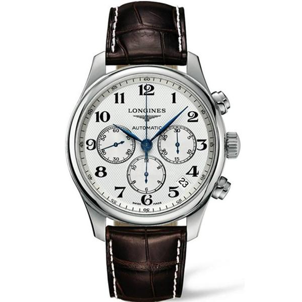 【JF厂】浪琴名匠系列7750机芯多功能计时皮带机械手表