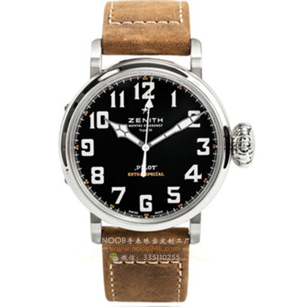 【KW厂】真力时飞行员系列03.2430.3000/21.C738瑞士腕表