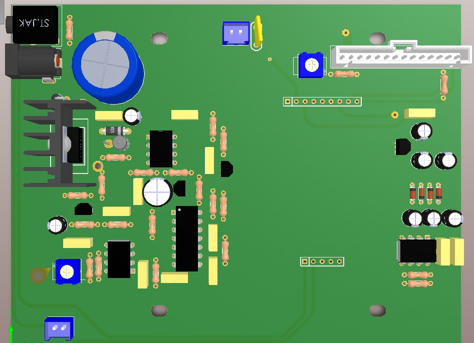 pcb 制版_大深度地下脉冲金属探测器电路板PCB制作资料-脉冲探测仪-商城 ...