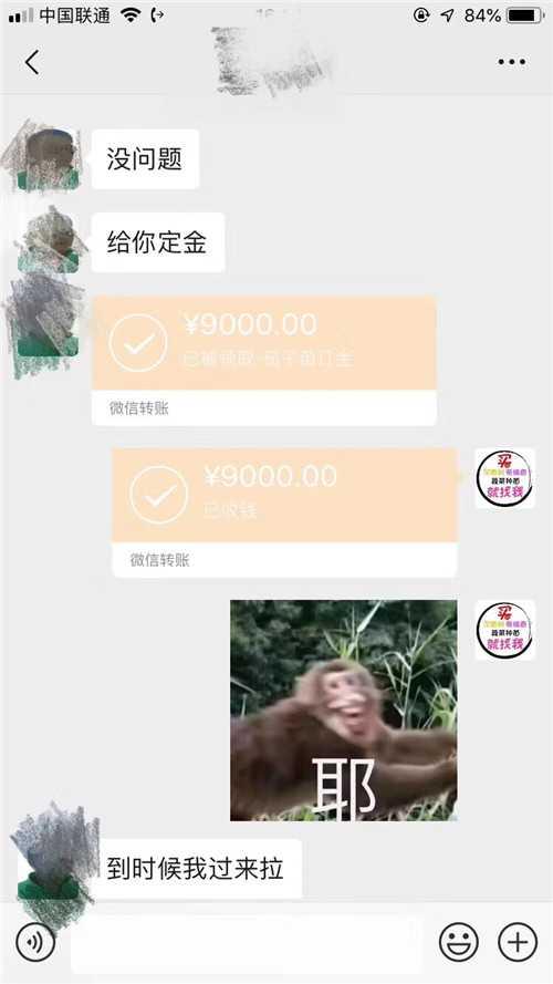 客户订购青娱乐最新官网种青娱乐网站转账9000