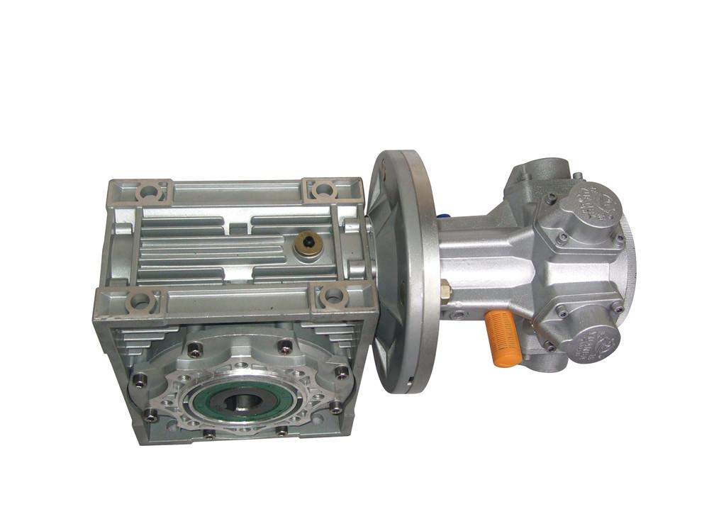 气动马达配涡轮减速机