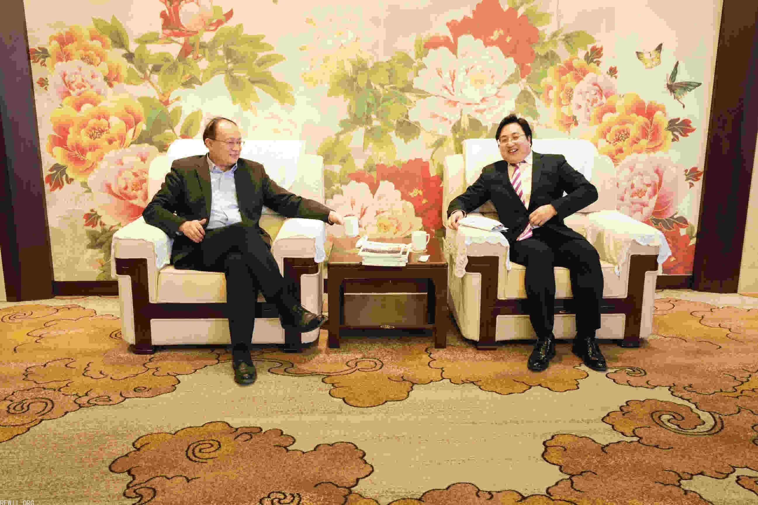 2018年1月国务院发展研究中心党组成员余斌接见陈云博士