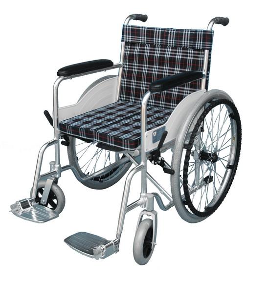 铝合金双翻轮椅