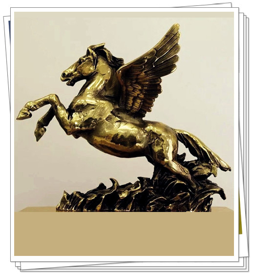 经典雕塑-马
