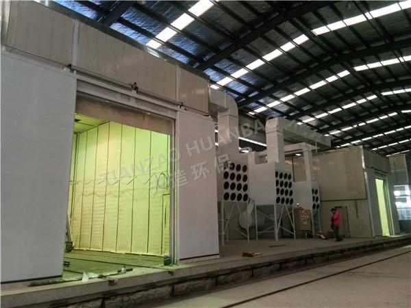 河南喷砂机厂家:自动输送式自动喷砂机的核心设计理念
