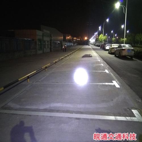 滁州金春无纺布停车划线施工