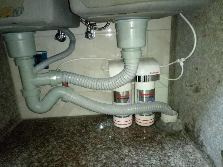 石狮——霍尼韦尔净水器安装案例
