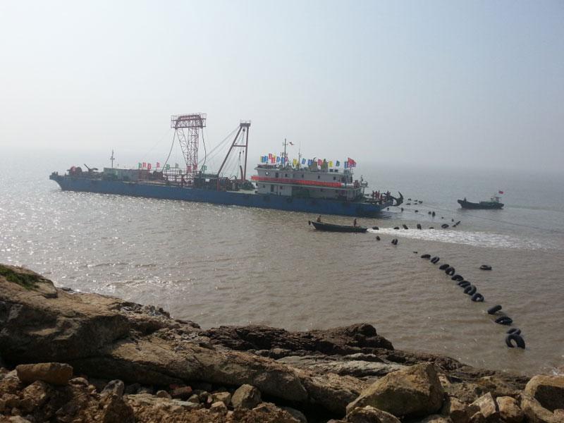 玉环 栈台-鸡山海底电缆工程