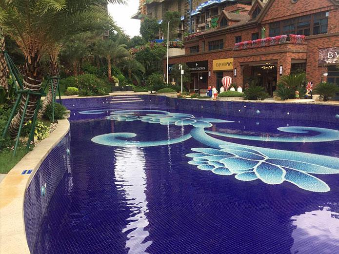 天津葛沽鎮影視基地游泳池項目