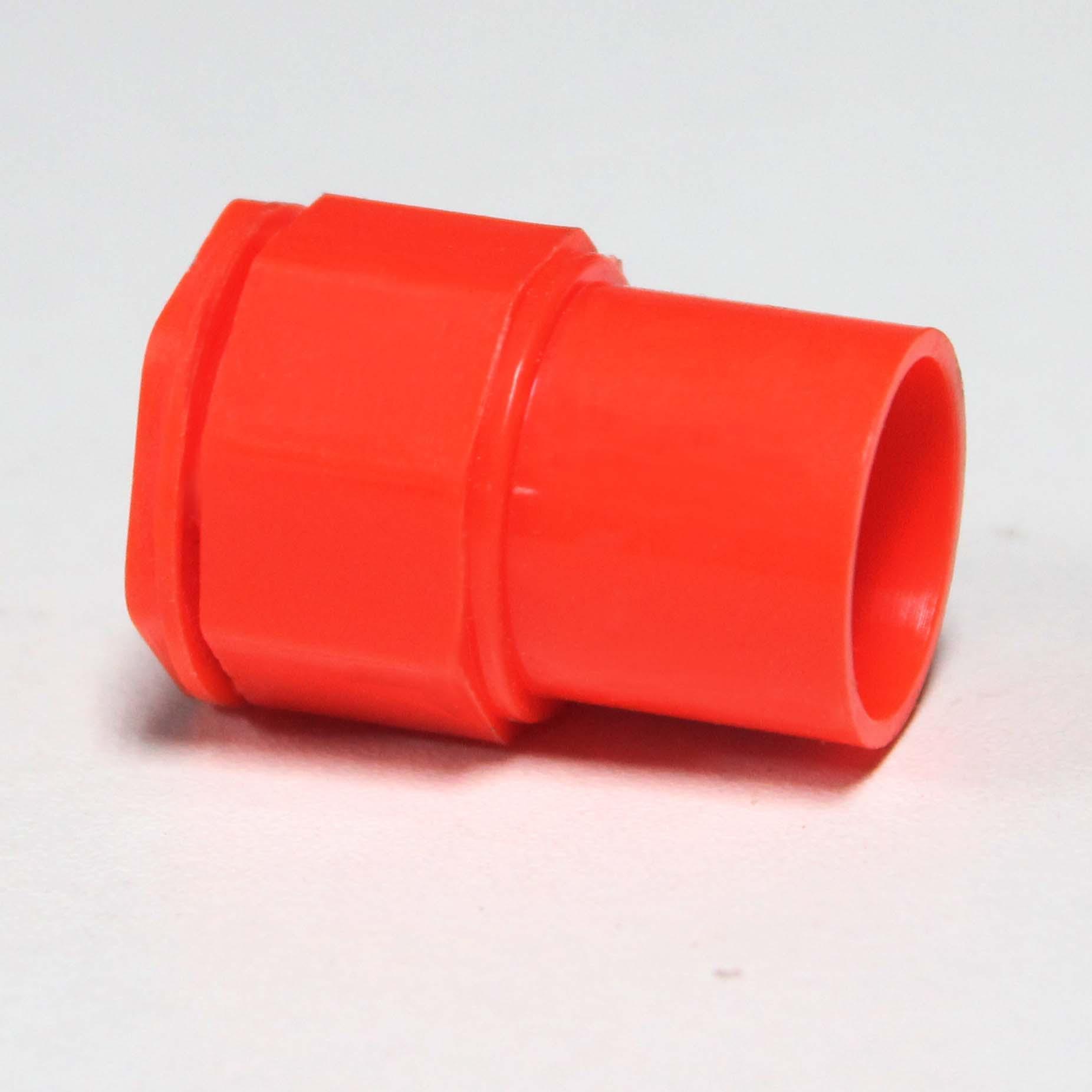 PVC红蓝穿线管道