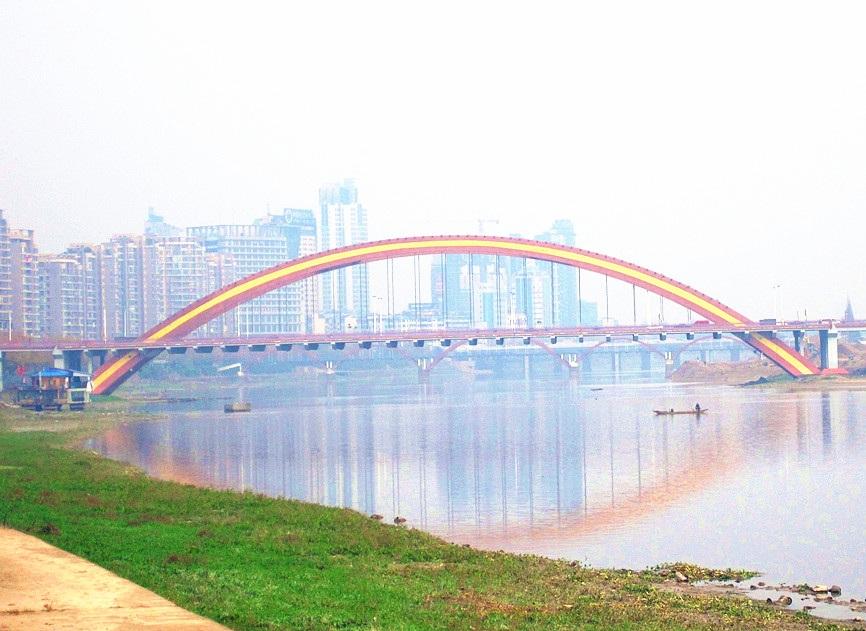浙江金华双龙大桥吊杆换索工程