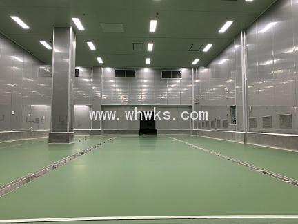 武汉新五心食品科技有限公司中央厨房地坪涂装